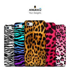 Custodia Cover Leopardato Zebrato Per Apple iPhone 4 4s 5 5s 5c 6 6s 7 8 X 11
