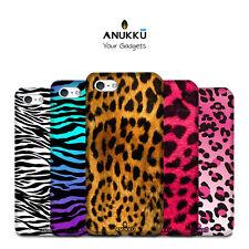 Custodia Cover Leopardato Zebrato Per Apple iPhone 4 5 SE 6 7 8 X 11 XR PLUS MAX