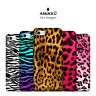 Custodia Cover Leopardato Zebrato Per Apple iPhone 4 4s 5 5s 5c 6 6s 7 Plus SE