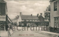 BAGSHOT The Square Postcard nr Camberley Bracknell BERKSHIRE Frith Cycle