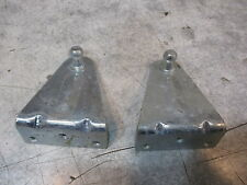 "Set (2) Gas Spring Mounting Bracket 2 1/8"" x 2 1/2"" 10mm Ball 90 Degree"