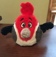 "Angry Birds Rio PEDRO THE PARROT BIRD 6"" Plush STUFFED ANIMAL Toy"