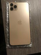 Apple iPhone 11 Pro Max Back Housing Gold Genuine Original Oem 9/10 Condition