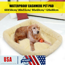 New listing Us Pet Bed Cushion Dog Cat Pet Crate Warm Mat Soft Pad Nest House Indoor Outdoor