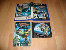 RATCHET & CLANK 2 TOTALMENTE A TOPE PARA SONY PLAY STATION 2 PS2 USADO COMPLETO