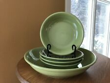 Espana Tabletops Unlimited Pasta/Serving Bowl & 4 Individual Bowls Set Green