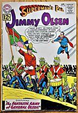 "SUPERMAN'S PAL JIMMY OLSEN #60 (1962) ""The FANTASTIC ARMY of JIMMY OLSEN!"""