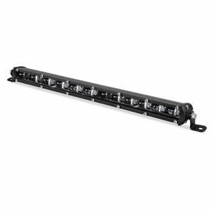 Slim 13inch 60W LED Work Light Bar Fog Driving Lamp ATV SUV Offroad Truck Pickup