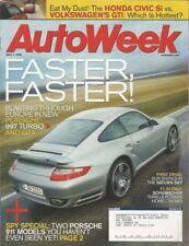 AUTOWEEK 2006 MAY 01 - CIVIC Si vs VW GTI, 911 TURBO & GT3, '62 LOTUS ELITE