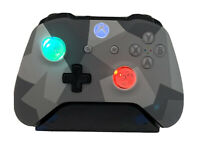 Winter Forces Xbox One Controller w LED GLOWING MOD Halo COD
