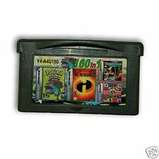 【 160 in 1 】Nintendo Game Boy Advance SP  Handheld System Cartridges