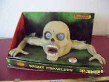GEMMY ANIMATED NIGHT CRAWLER Halloween Talks Moving Eyes Prop Decor Monster