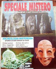 1996  'SPECIALE MISTERO' ANNO I - n° 1 ARCHEOLOGIA MISTERIOSA SIMBOLOLI MITI....