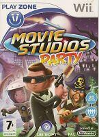 NINTENDO Wii MOVIE STUDIOS PARTY GAME