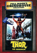 THOR : The Conqueror DVD Full Moon Grindhouse Conrad Nichols - OOP NEW
