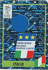 N°164 ECUSSON BADGE ITALY ITALIA PANINI EURO 2000 STICKER VIGNETTE CHROMO