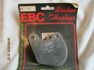 EBC FA72 HARLEY DAVIDSON XL XLH XLS XLX 79-81 REAR 1200 REAR BRAKE PADS FRONT