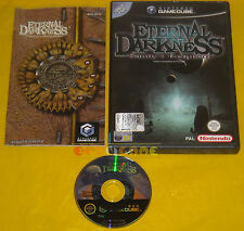 ETERNAL DARKNESS SANITY'S REQUIEM GameCube Versione Italiana 1ª Ediz ••••• USATO
