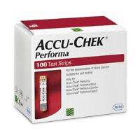 Accu-Chek Performa 100 Test Strips Exp JAN 2020 Made In USA Free Shipping