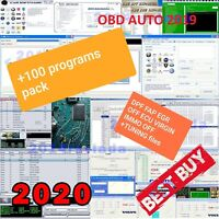 SUPER SOFTWARE KIT 100 Programs Remove DPF FAP EGR OFF ECU VIRGIN IMMO OFF OBD2