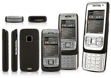 BNIB Nokia E65 - Silver (Unlocked) Slider 3G 2MP Camera Smartphone