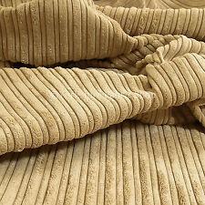 Canapés rideaux ameublement tissu new soft haut bas velours qualité beige en velours côtelé