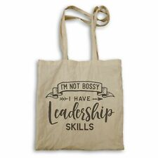 Not bossy have leadership skill Tote bag hh245r