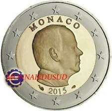 Pièces de 2 euros de Monaco, année 2015