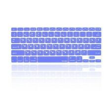 """Russian /English SKY BLUE Silicone Keyboard Cover for Macbook Pro 13"""" 15"""" 17"""""""