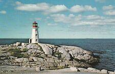 """*Canada Postcard-""""The Lighthouse"""" ...Peggy's Cove, Nova Scotia/"""