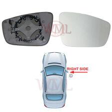 SKODA Citigo 2010 - > 2017 porte a specchio di vetro convesso d'argento, Non Riscaldato & Base, giusto
