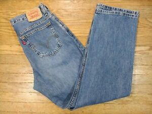 Levi's 550 Men's Straight Relaxed Jeans, Size 34x33