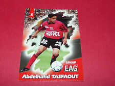 PANINI FOOTBALL CARD 98 1997-1998 A. TASFAOUT EN AVANT GUINGAMP EAG ROUDOUROU