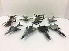 Lot of Vintage Matchbox Military Aircraft Fighter Jets Helicopters (Please Read)
