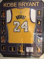 KOBE BRYANT Hand Signed LAKERS Jersey COA Black Mamba Very Rare