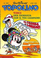 fumetto TOPOLINO WALT DISNEY numero 1664