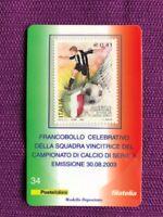 2003 TESSERA FILATELICA JUVENTUS