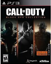 PS3 ACTION-CALL OF DUTY:BLACK OPS COLLECTION (BLACK OPS 1/2/3)  PS3 NEW