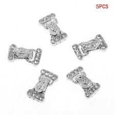 5Pcs/Set 24x14mm Magnetic Jewelry Clasps 3 Strand Rhinestone Jewelry Accessories