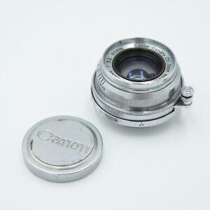 Canon Serenar 35mm f/3.2 LTM w/ Cap #631