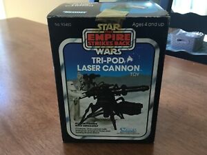 VINTAGE STAR WARS TRI-POD LASER CANNON ROTJ Factory sealed IN BOX! NEW OLD STOCK