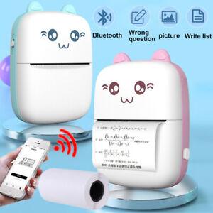 Pocket Thermal Printer Mini Bluetooth Mobile Phone Label Photo Printing Machine
