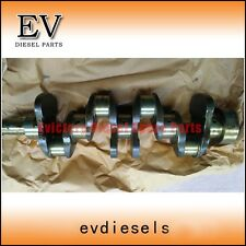 ISUZU EXCAVATOR 4BD1 4BD1T 4BB1 crankshaft + connecting rod + bearing set