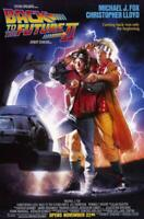 Back to the Future, Part 2 Movie POSTER 11 x 17 Michael J. Fox, A