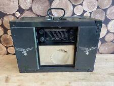 More details for siemens k32 gbw german wartime radio