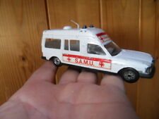 Vintage toys car auto JET CAR NOREV Ambulance SAMU Mercedes 1/43