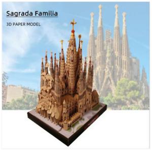2x1: 1 in OMAGGIO! Sagrada Familia 3D Paper Model Architecture DIY (459 pz)!