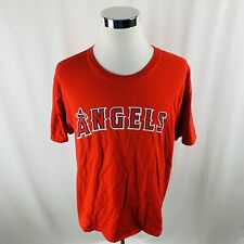 Los Angeles Angels MLB Red Short Sleeve T-Shirt Mens XL X-Large