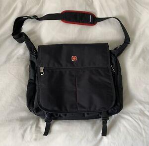 Wenger Laptop Messenger Shoulder Bag - Black