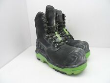 DUNLOP Men's 8'' Composite Toe Composite Plate Leather Safety Boot DLNA16100 9.5